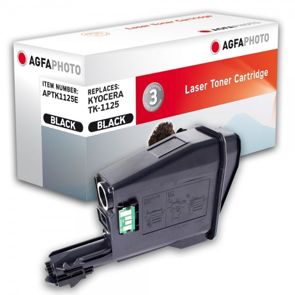 AGFA Photo Toner schwarz TK-1125E für Kyocera FS-1040 1041 1060DN 1061DN