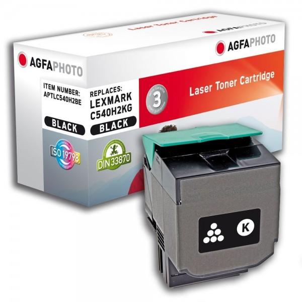 AGFA Photo Toner schwarz C540H2BE für Lexmark C540
