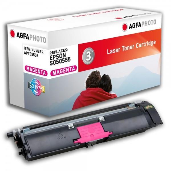 AGFA Photo Toner magenta 555E für Epson Aculaser C1600 CX16 S050555
