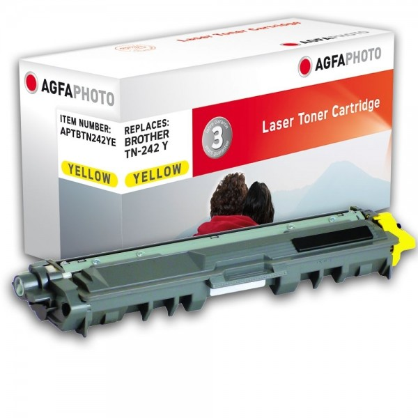 AGFA Photo Toner gelb TN-242YE für Brother HL-3140