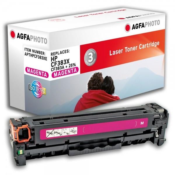 AGFA Photo Toner magenta HPCF383XE für HP Color LaserJet PRO MFP M476