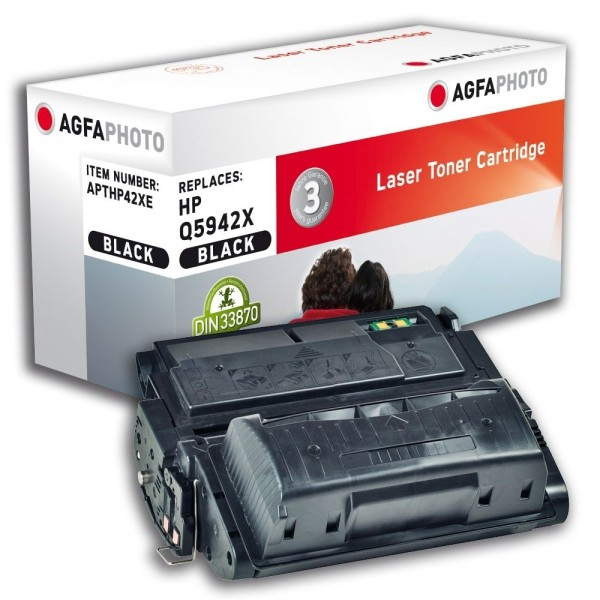 AGFA Photo Toner schwarz HP42XE für HP LaserJet 4250 Series