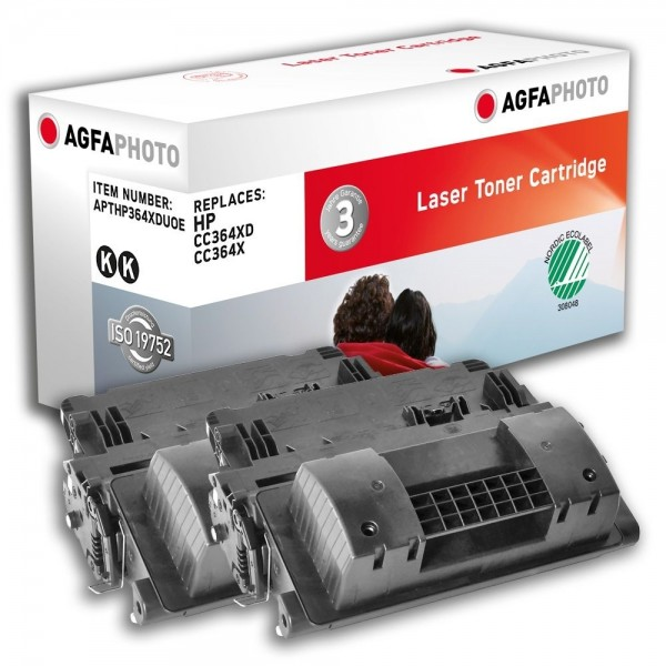 AGFA Photo Toner Schwarz HP364XDUOE HP LaserJet P4011 4012 4014 4015 4515 4016 4017