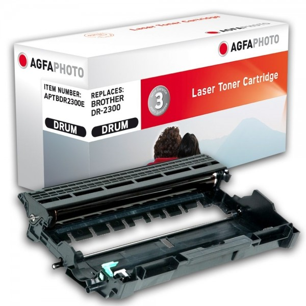AGFA Photo Bildtrommel schwarzDR-2300E für Brother DCP-L2500 HL-L2300 L2720 L2740