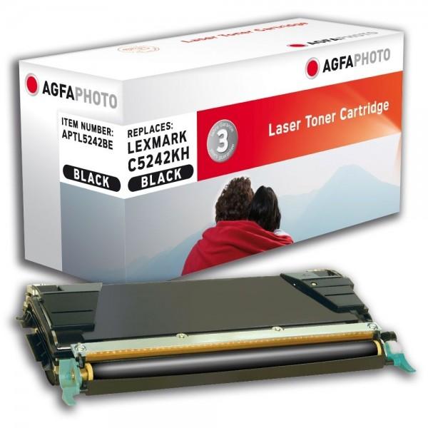 AGFA Photo Toner schwarz 5242BE für Lexmark C524 C534