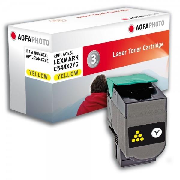 AGFA Photo Toner gelb C544X2YE für Lexmark C544 C546