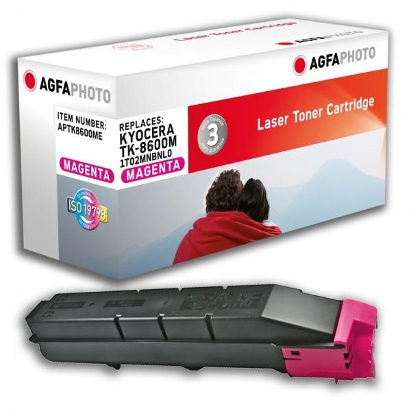 AGFA Photo Toner magenta TK-8600ME für Kyocera FS-C8600 FS-C8650