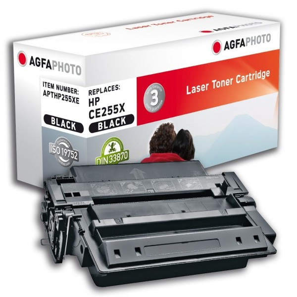 AGFA Photo Toner schwarz HP255XE für HP LaserJet Enterprise 500 MFP M525