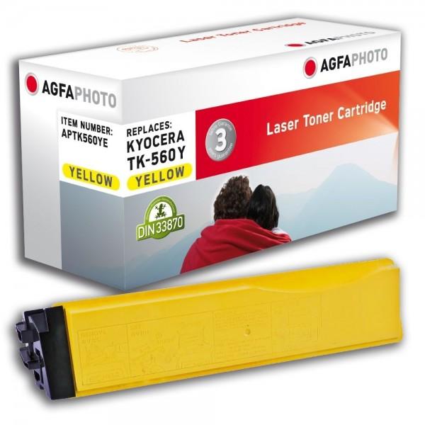 AGFA Photo Toner gelb TK-560YE für Kyocera FS-C5300 FS-C5350