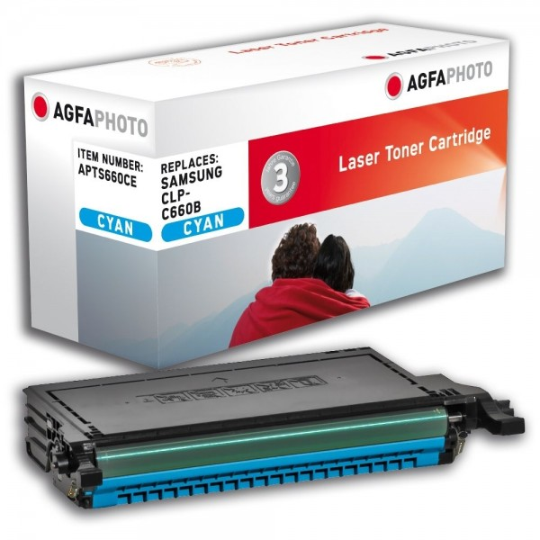 AGFA Photo Toner cyan 660CE für Samsung CLP-607 CLX-6200