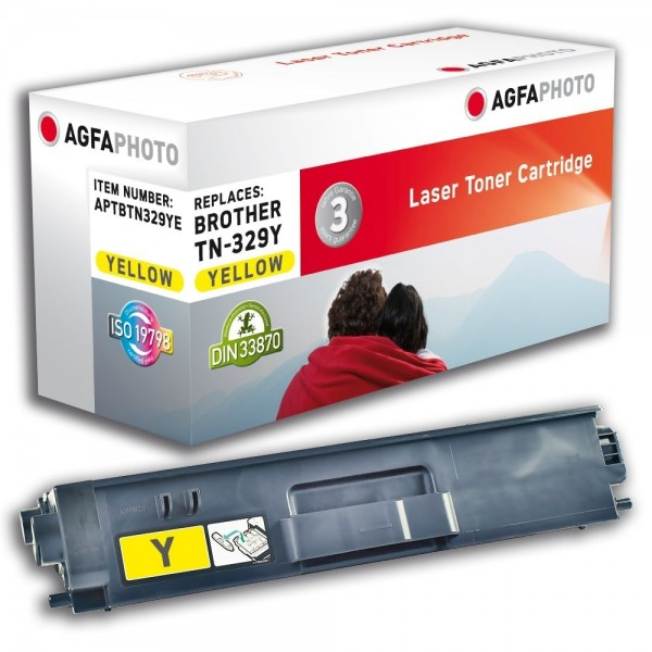 AGFA Photo Toner gelb TN-329YE Brother HL-L8350