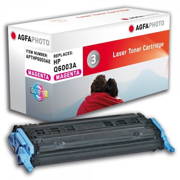 AGFA Photo Toner magenta HP6003AE für HP Color LaserJet 2600 Series