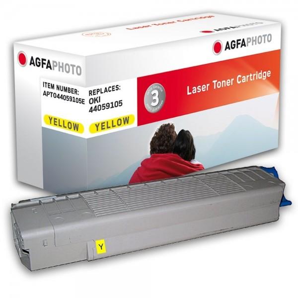 AGFA Photo Toner gelb 44059105E für OKI C810 C830