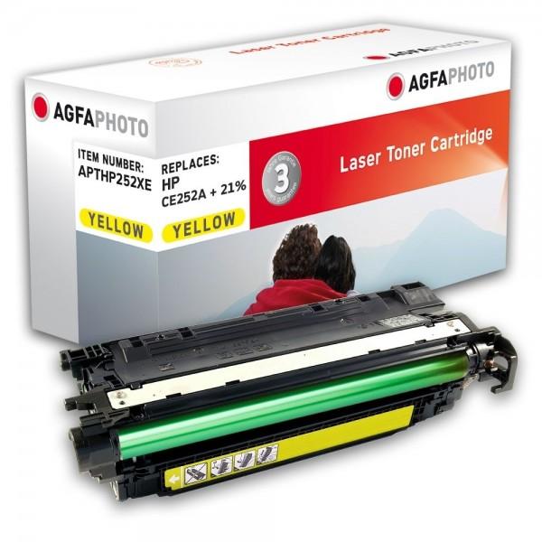 AGFA Photo Toner gelb HP252XE für HP LaserJet CM3500 Series