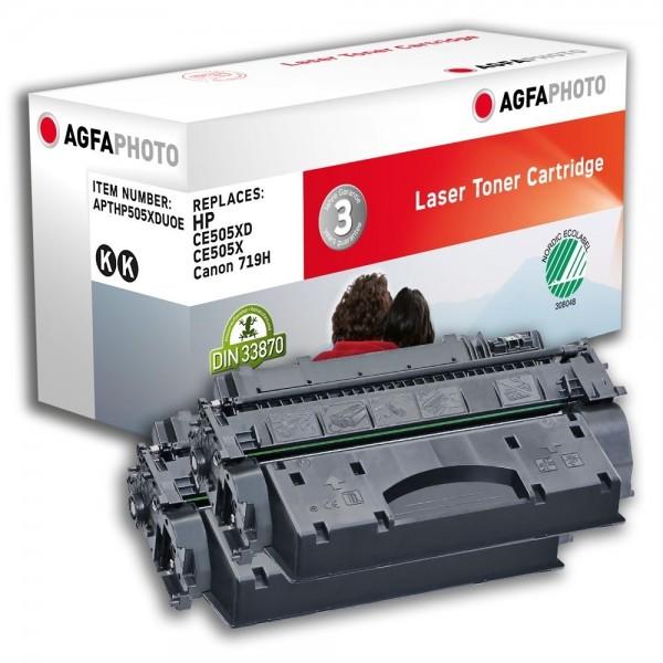 AGFA Photo Toner schwarz HP505XDUOE für HP LaserJet P2030 LaserJet P 2050