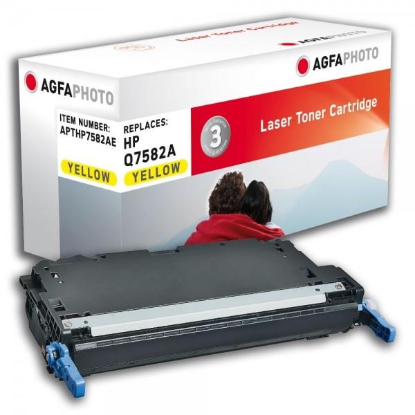 AGFA Photo Toner gelb HP7582AE für HP Color LaserJet 3800 Series