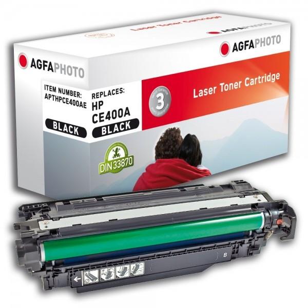 AGFA Photo Toner Schwarz HPCE400AE für HP LaserJet Enterprise 500 Color M 551 Series