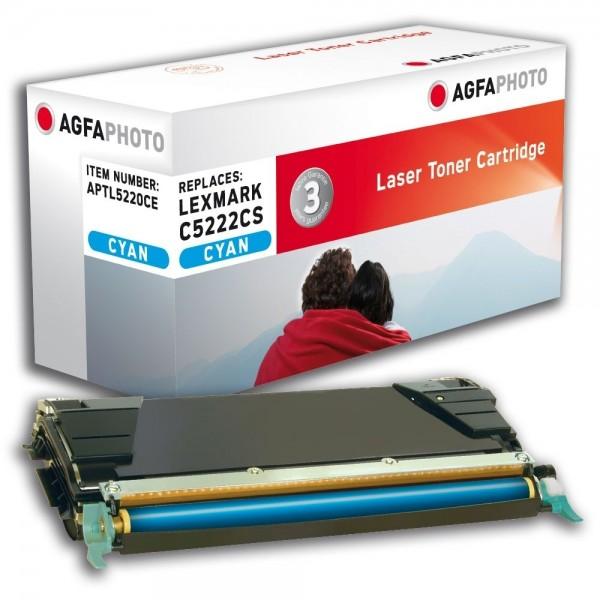 AGFA Photo Toner cyan 5220CE für Lexmark C534