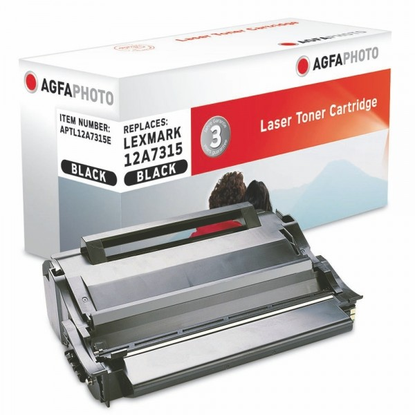 AGFA Photo Toner schwarz 12A7315E für Lexmark T420