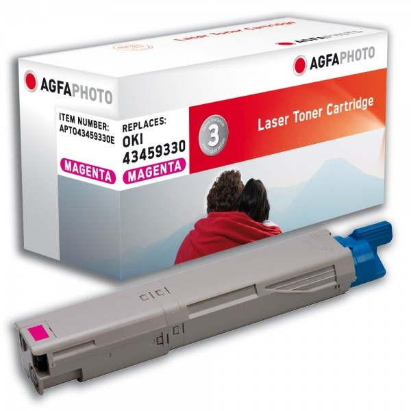 AGFA Photo Toner magenta 43459330E für Oki Data C3300 C3400