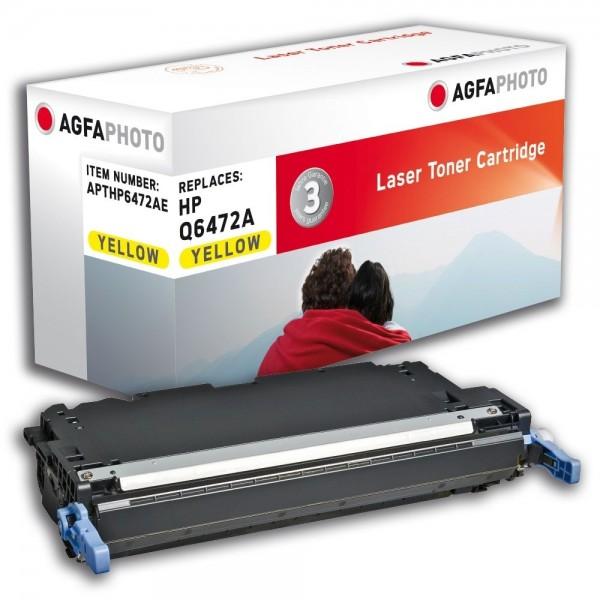 AGFA Photo Toner gelb HP6472AE für HP Color LaserJet 3600 Series