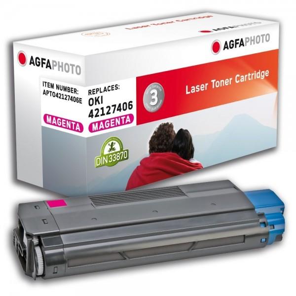 AGFA Photo Toner magenta 42127406E für OKI C5100 C5200 C5300 C5400