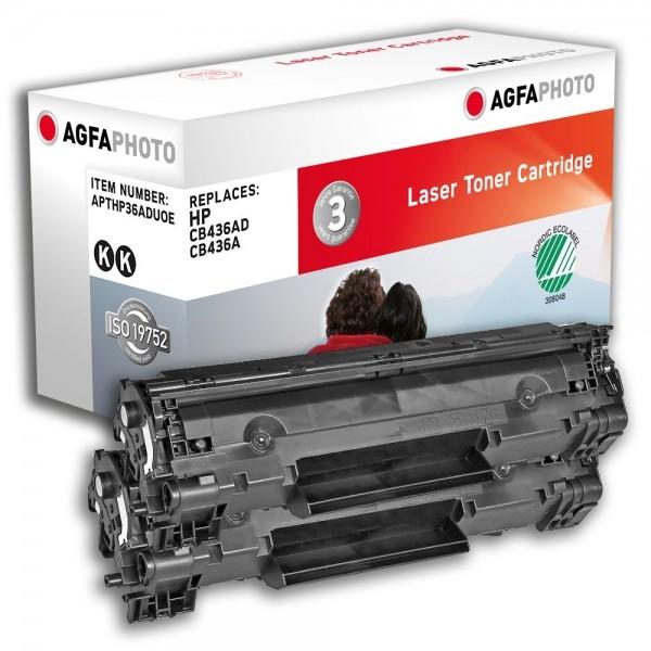AGFA Photo Toner Schwarz HP36ADUOE HP LaserJet M1120A M1522 P1503 P1504 P1505