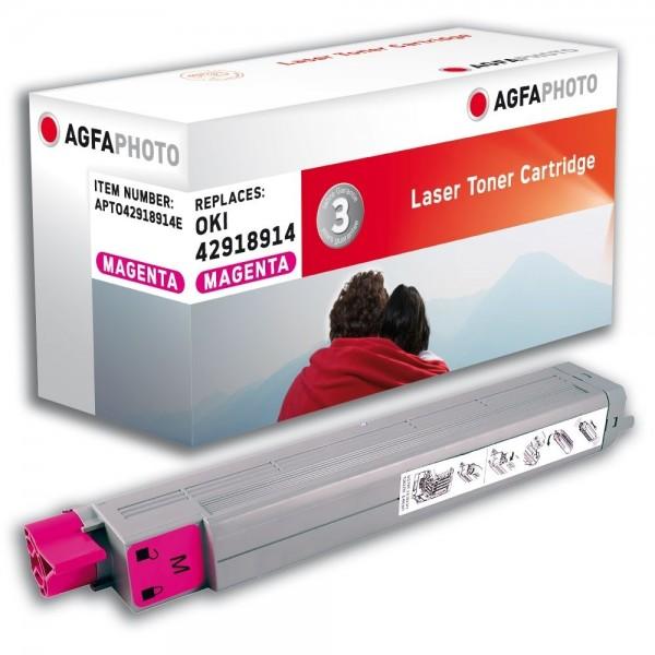 AGFA Photo Toner magenta 42918914E für OKI C9600 C9800