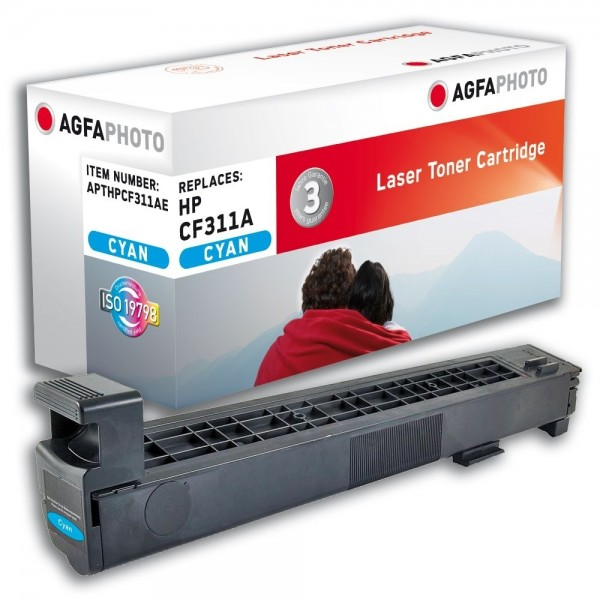 AGFA Photo Toner Cyan HP826 HPCF311AE HP Color LaserJet Enterprise M855
