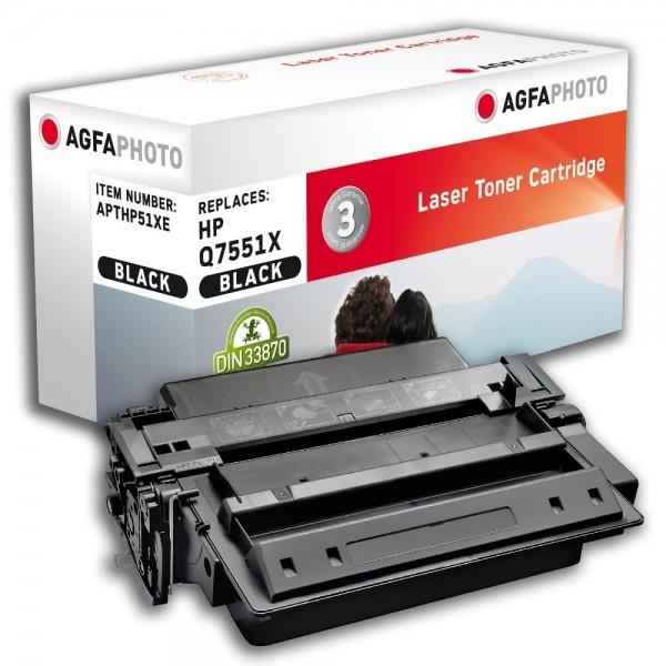 AGFA Photo Toner schwarz HP51XE für HP LaserJet M3000 LaserJet P 3004