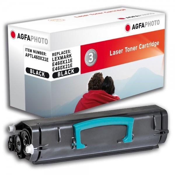 AGFA Photo Toner schwarz 460X21E für Lexmark E460