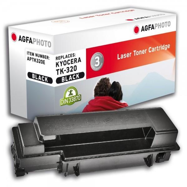 AGFA Photo Toner schwarz TK-320E für Kyocera FS-3900 FS-4000