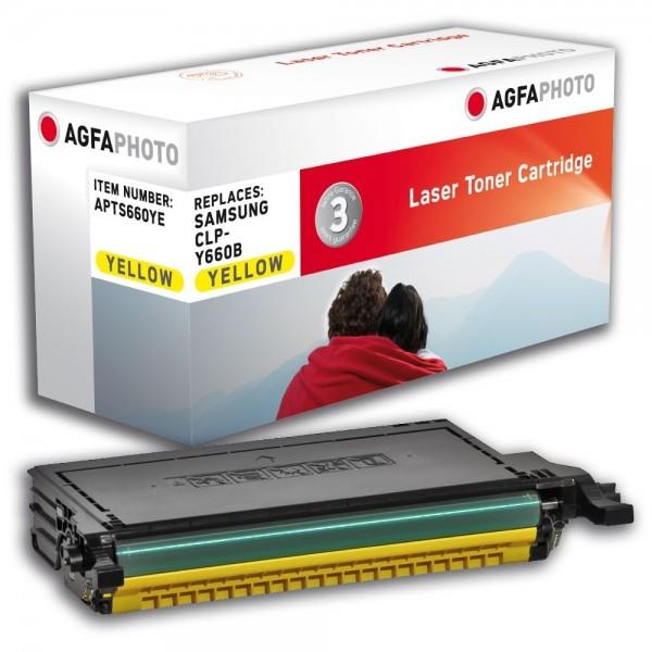 AGFA Photo Toner gelb 660YE für Samsung CLP-607 SCX-6200