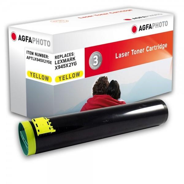 AGFA Photo Toner gelb X945X2YGE für Lexmark X940 X945