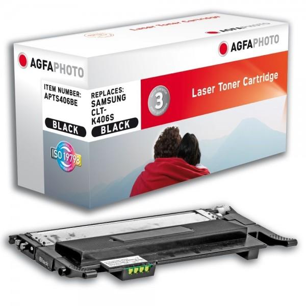 AGFA Photo Toner schwarz 406BE Samsung CLP-360 365 CLX-3300 3305 C410 C460