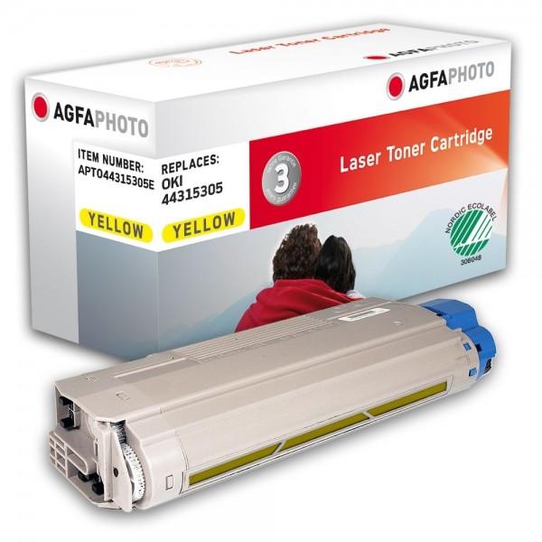 AGFA Photo Toner gelb 44315305E für OKI C610