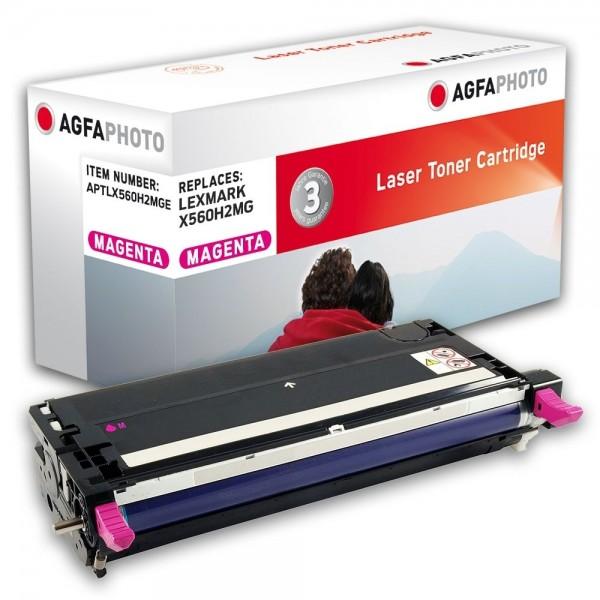 AGFA Photo Toner magenta X560H2MGE für Lexmark X560