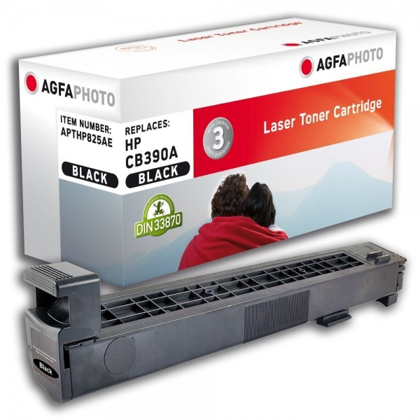 AGFA Photo Toner schwarz HP825AE für HP Color LaserJet CM6040 Series