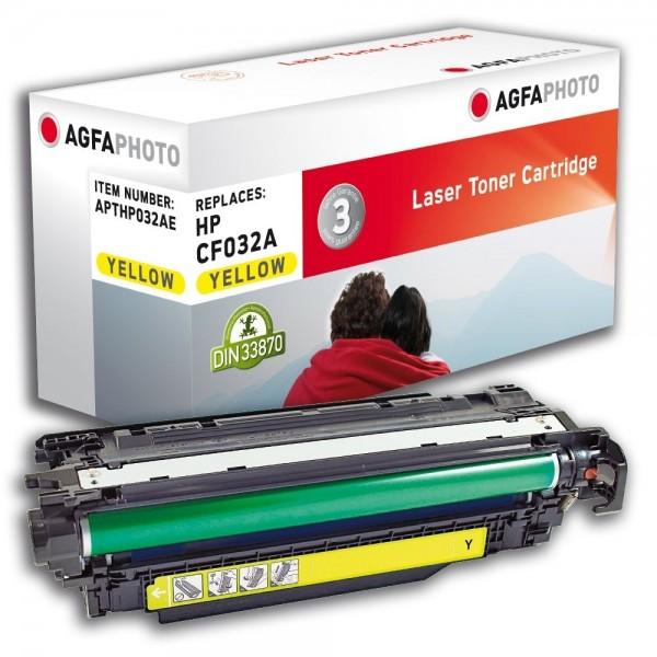 AGFA Photo Toner Gelb HP032AE für HP LaserJet Enterprise CM4540