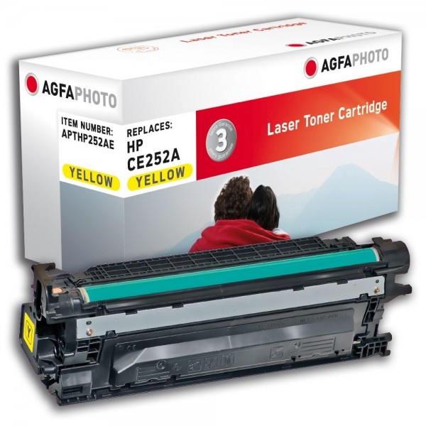 AGFA Photo Toner gelb HP252AE für HP LaserJet CM3500 Series