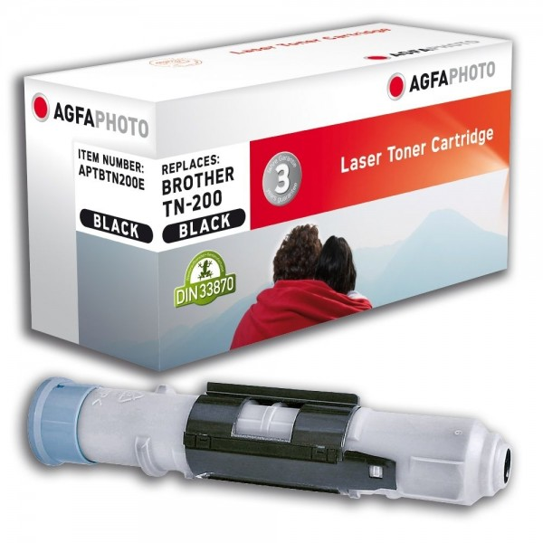 AGFA Photo Toner schwarz TN-200E für Brother HL-720 HL-730 HL-760
