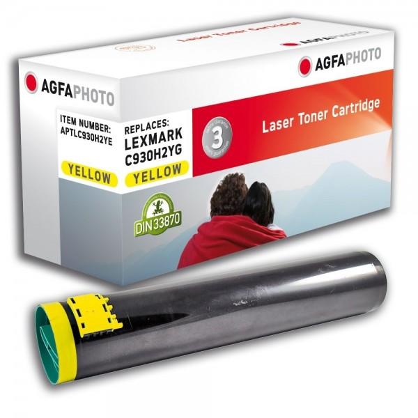 AGFA Photo Toner gelb C930H2YE für Lexmark C935