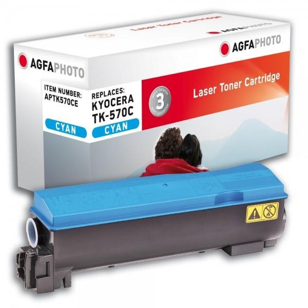 AGFA Photo Toner cyan TK-570CE für Kyocera FS-C5400DN