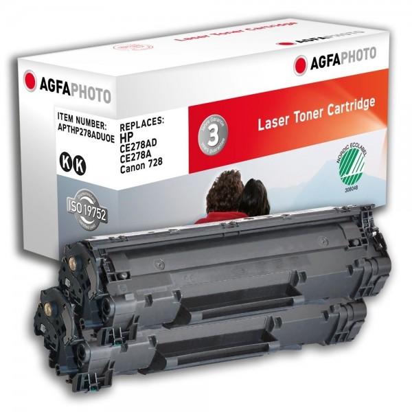 AGFA Photo Toner schwarz HP278ADUOE für HP LaserJet P1566