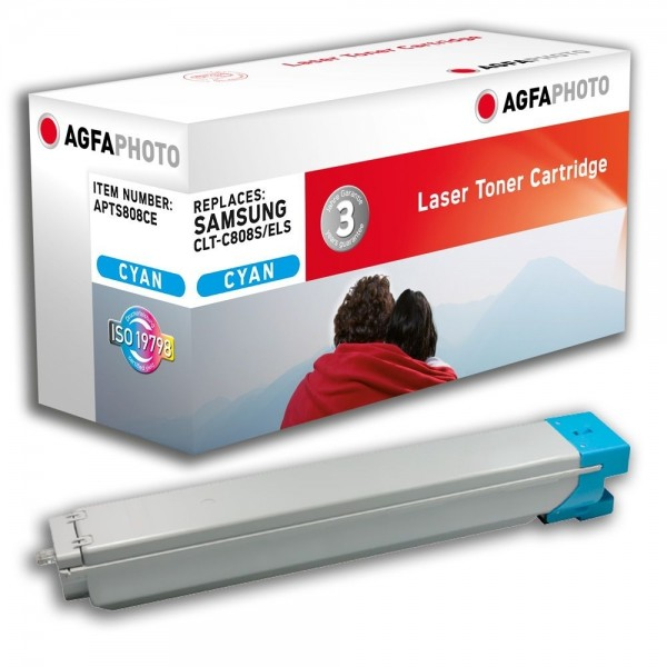 AGFA Photo Toner cyan 808CE für Samsung MultiXpress X4200 X4300