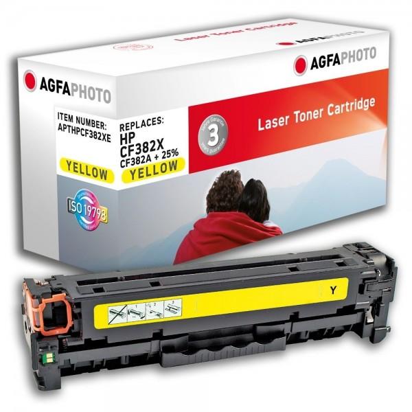 AGFA Photo Toner Gelb HP312 HPCF382XE HP Color LaserJet PRO MFP M476