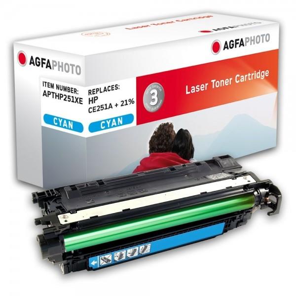 AGFA Photo Toner cyan HP251XE für HP LaserJet CM3500 Series