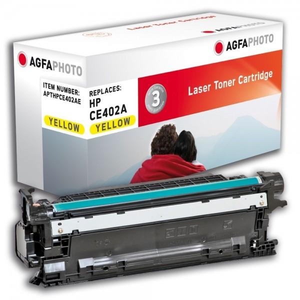 AGFA Photo Toner Gelb HPCE402AE für HP LaserJet Enterprise 500 Color M551 M575