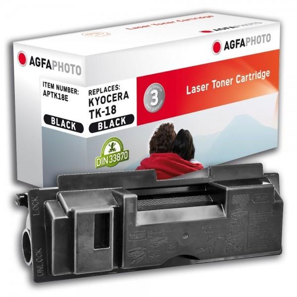 AGFA Photo Toner schwarz TK-18E für Kyocera FS-1018 FS-1020
