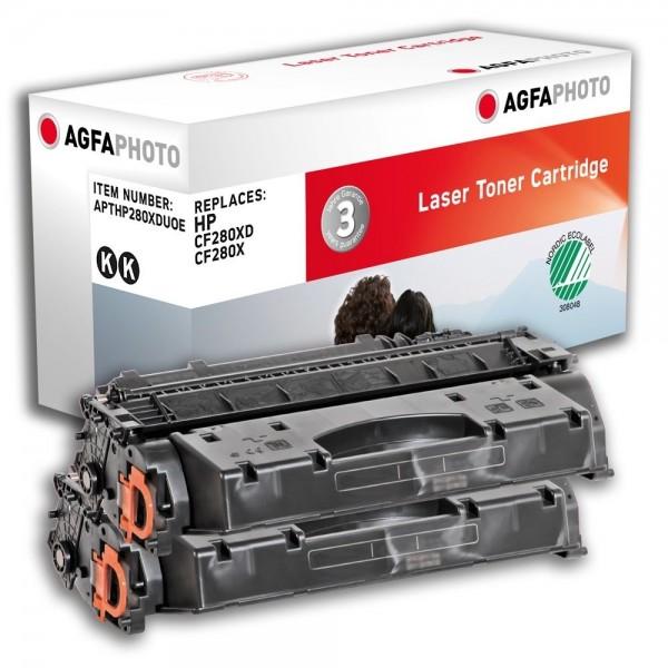 AGFA Photo Toner schwarz HP280XDUOE für HP LaserJet PRO 400 M401A